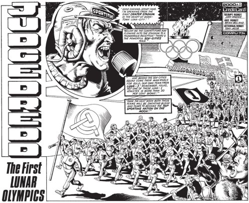 Gorgeous Bolland spread from prog 50, scan via daniellight.co.uk