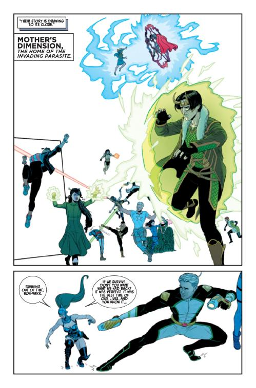 Young Avengers #13 interior art via comicvine.com