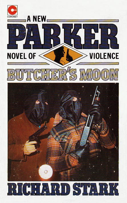 Photo cover for Coronet edition of Butcher's Moon by Richard Stark, via Pulp Curry.